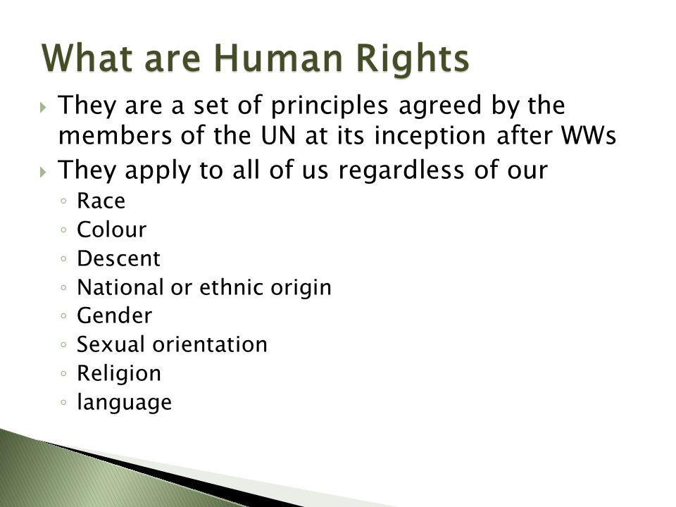 These rights are all interrelated, interdependent and indivisible.