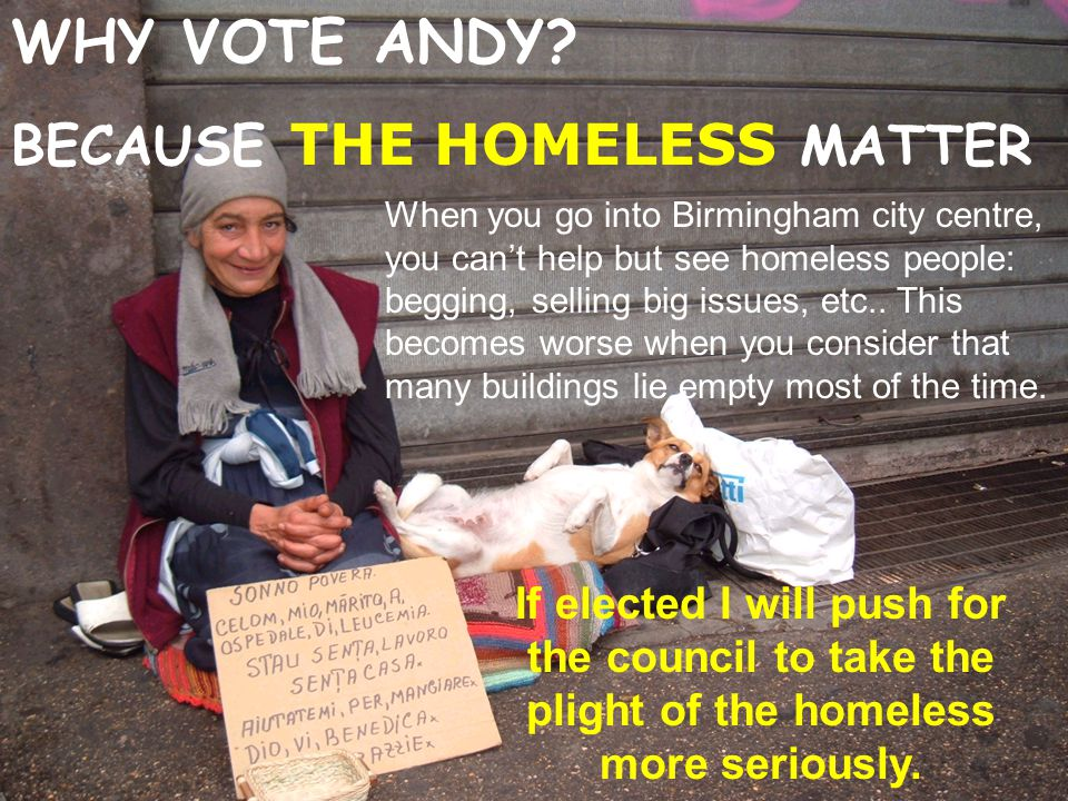 WHY VOTE ANDY.