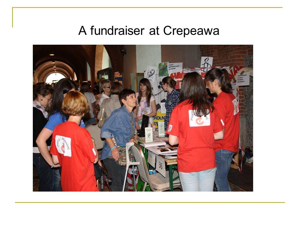 A fundraiser at Crepeawa