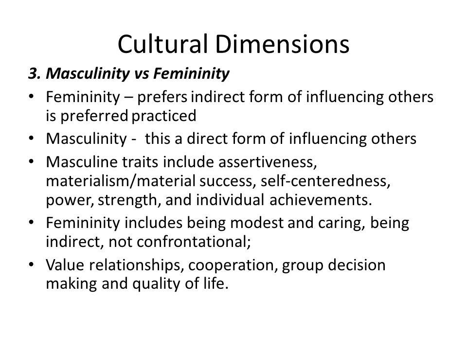 Cultural Dimensions 3.