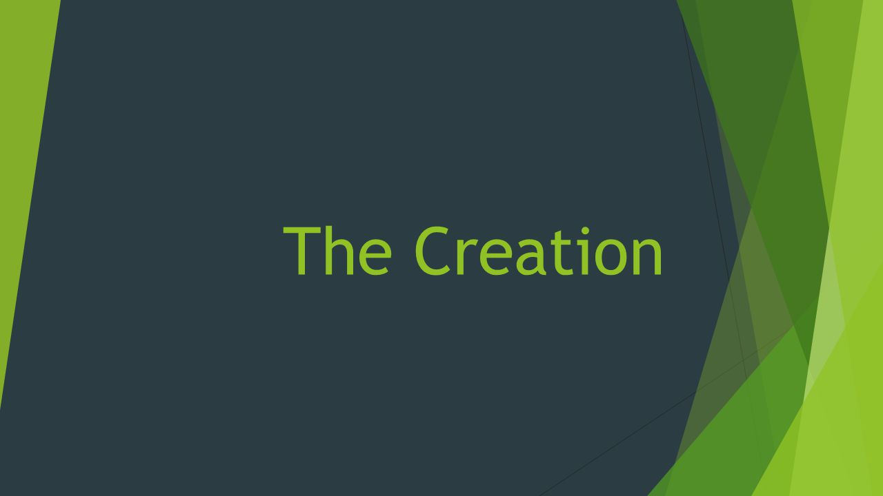 Definitions  The Greek noun ktisis, derived from the verb ktizō [to build], refers to creation (the act or the product) [Thomas 2937].