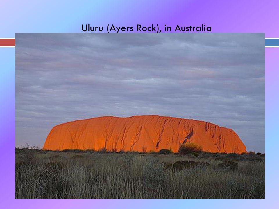 Uluru (Ayers Rock), in Australia
