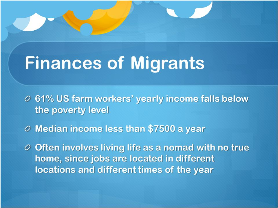 Question 1 How many migrant workers are employed in the United States.