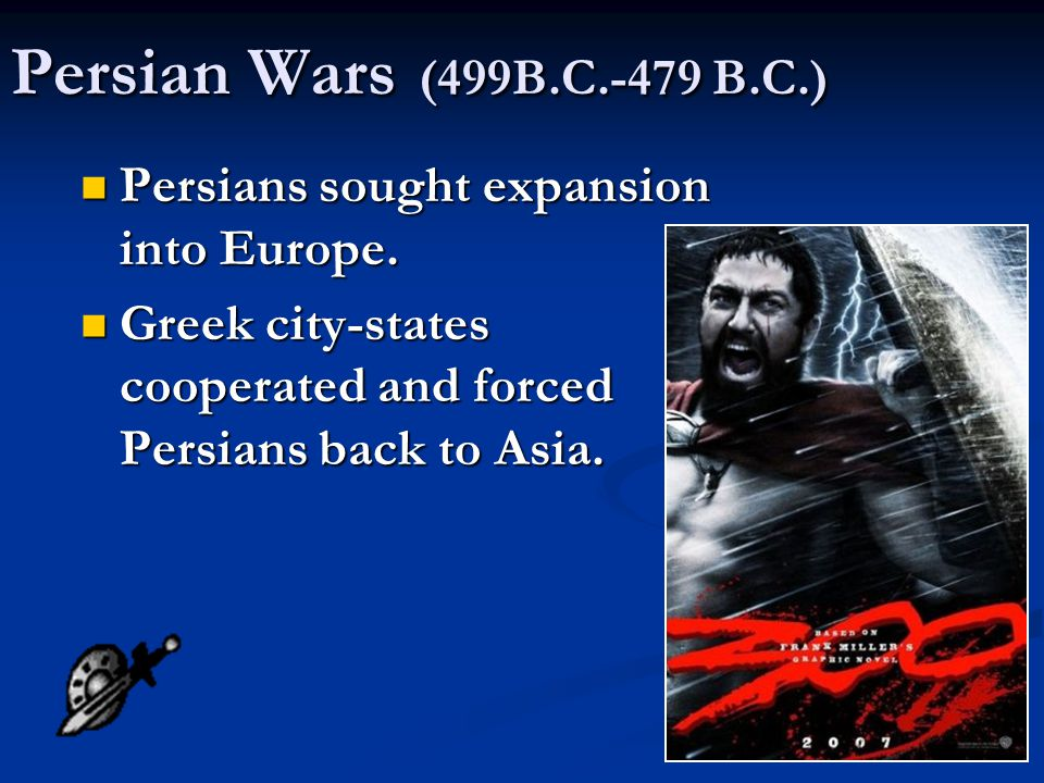Persian Empire: strongest military power