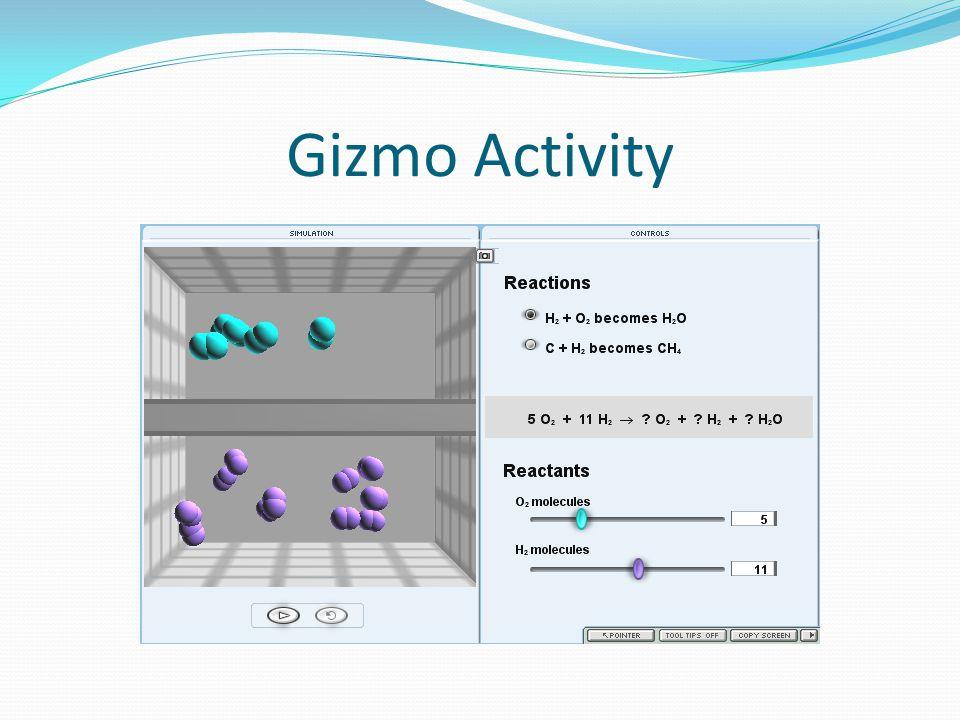 Gizmo Activity