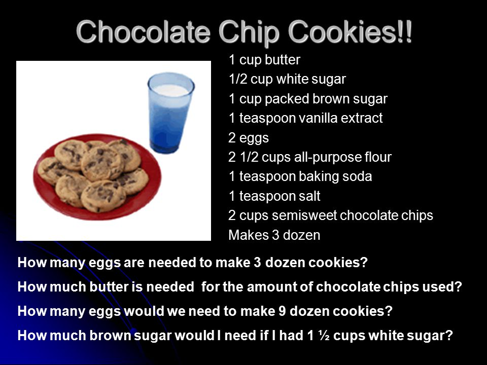 Chocolate Chip Cookies!.