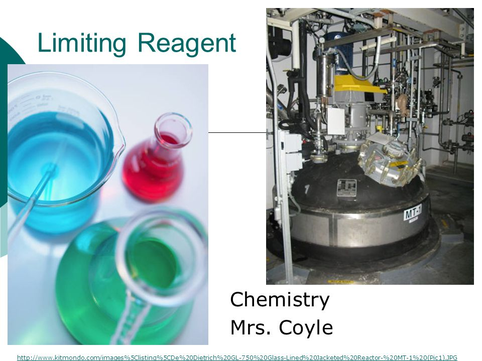 Limiting Reagent Chemistry Mrs.
