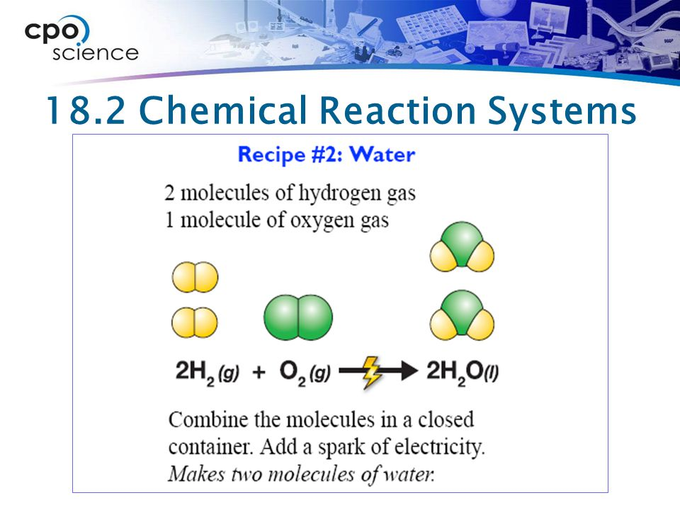 18.2 Chemical Reaction Systems
