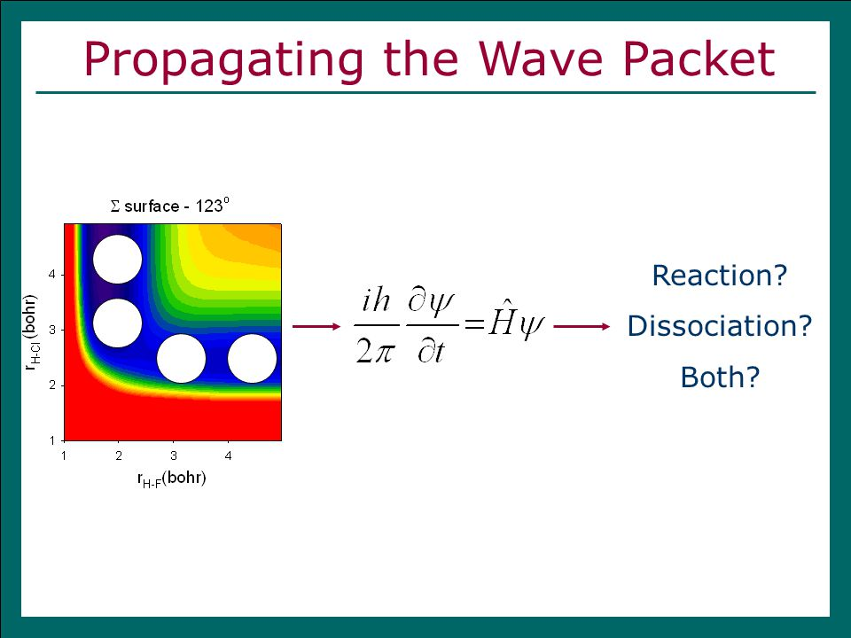 Propagating the Wave Packet Reaction? Dissociation? Both?