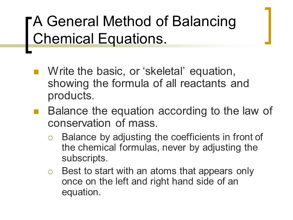 Worksheets All Chemistry Equations balancing chemical equations and stoichiometry chemistry 100 a general method of write the basic or skeletal