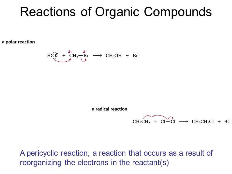 Pericyclic Reaction I An intramolecular reaction in which a new  bond is formed between the ends of a conjugated  system