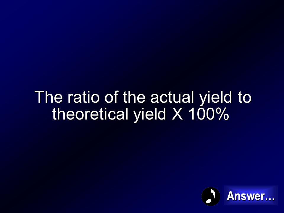 Actual Yield 400