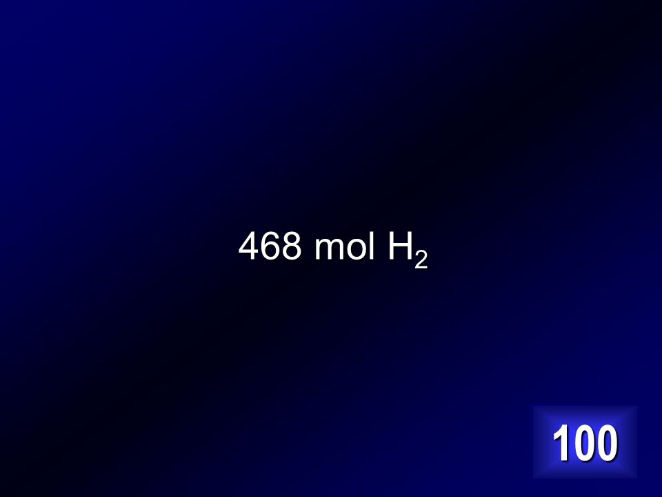How many moles of hydrogen are needed to prepare 312 moles of ammonia N 2 + 3 H 2 2 NH 3 Answer…