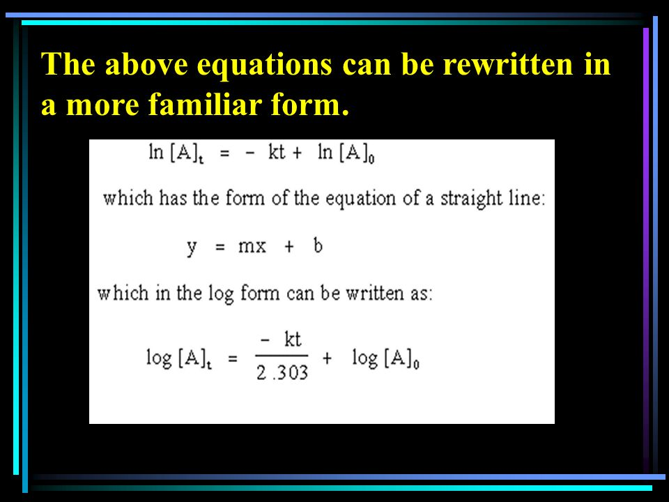 The above equations can be rewritten in a more familiar form.