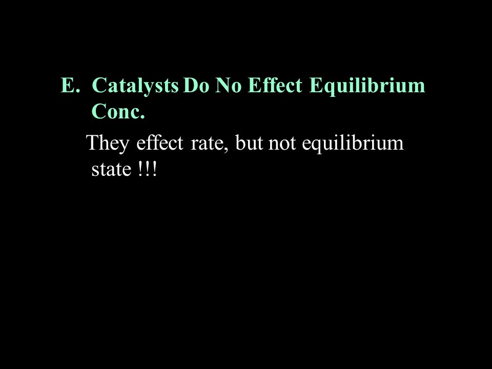 B.Example Problem How will the following factors affect the final equilibrium amount of Cl 2 .
