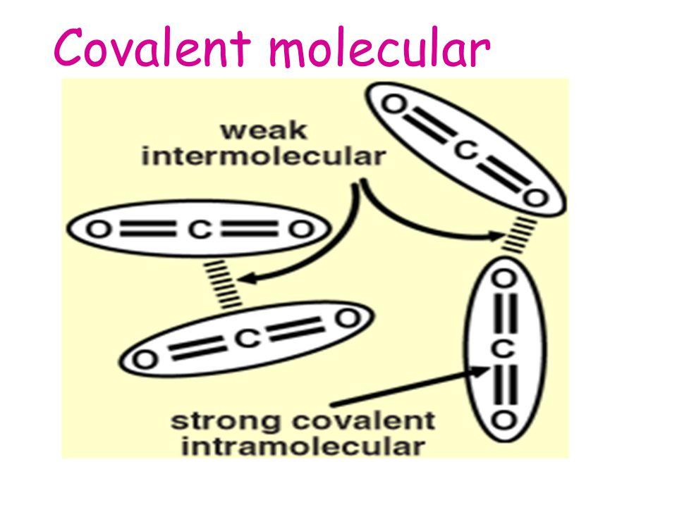 Covalent molecular