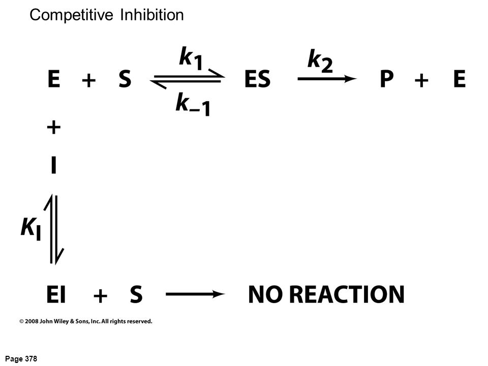 Page 378 Competitive Inhibition