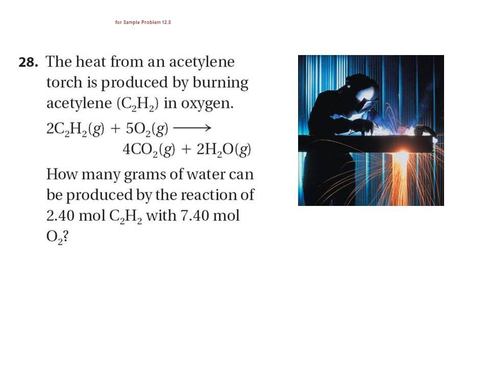 for Sample Problem 12.8