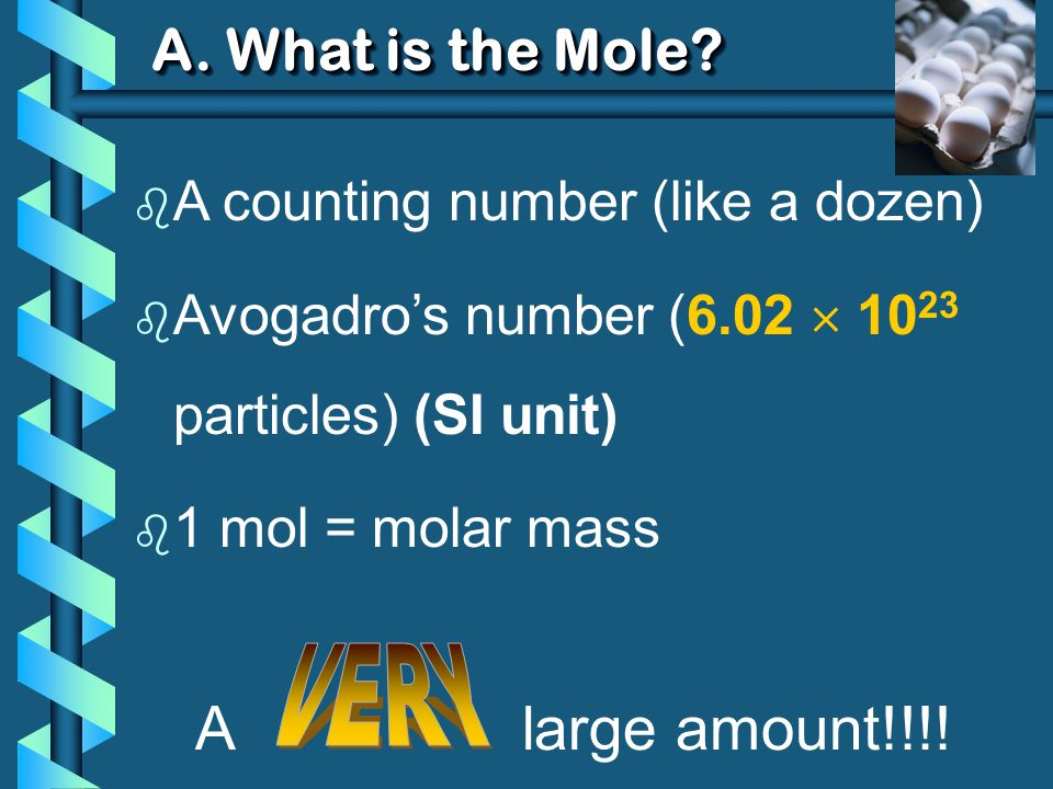 E.Molar Conversion Examples b Find the number of molecules of 12.00 L of O 2 gas at STP.