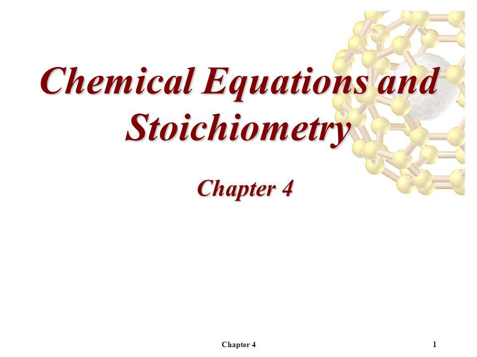 Chapter 412 Balancing Chemical Reactions ___Mg 3 N 2 (s) + ___H 2 O(l)  _3_Mg(OH) 2 (s) + _2_NH 3 (aq) Chemical Equations ReactantsProducts Mg3 1 3 N2N1 2 H2H5 9 12 O1O2 6
