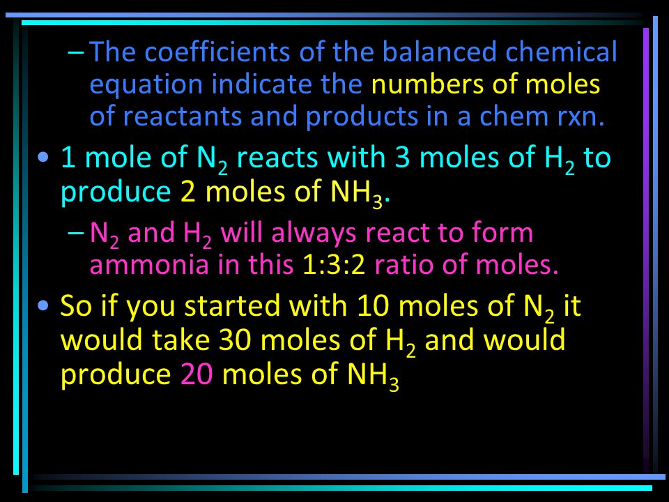 The last step in the production of nitric acid is the reaction of NO 2 with H 2 O.