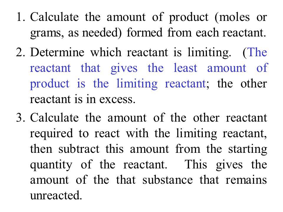 Reaction Yield