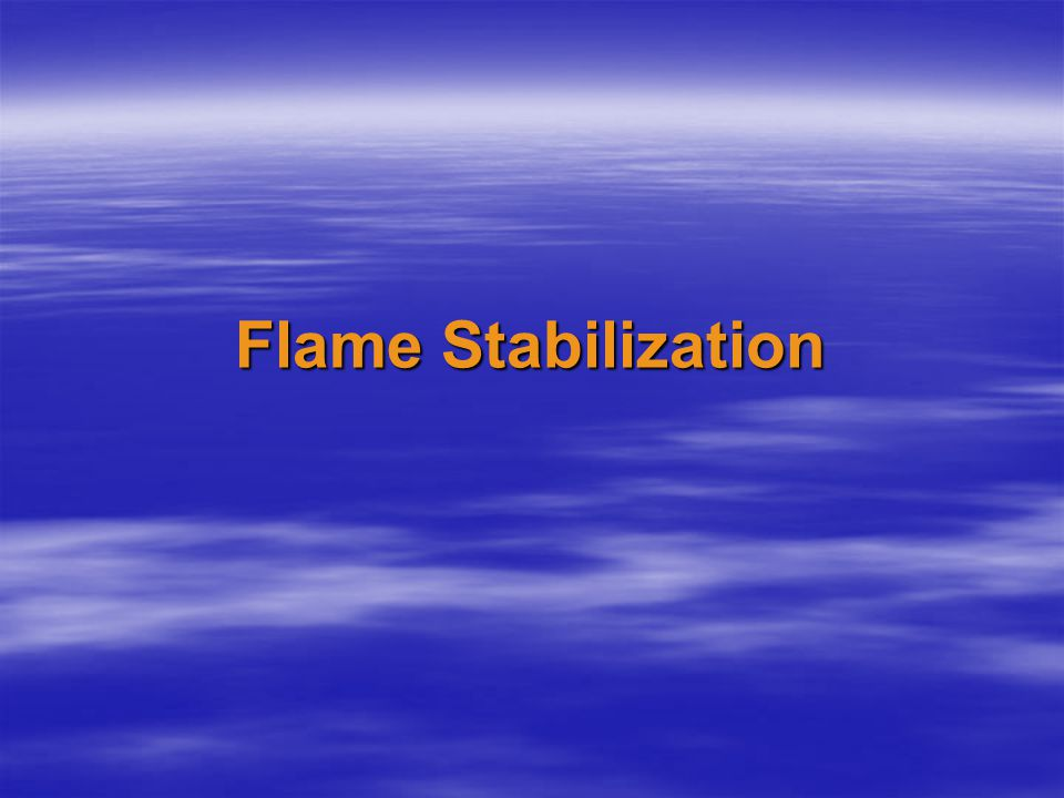  In order to accomplish commercial combustion, the supply velocity of the reactant mixture is desired to be extremely high; it is not unusual for this velocity to be as high as 10 X the maximum possible laminar flame speed of a given mixture.