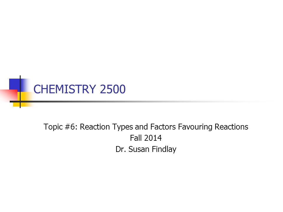 2 Reaction Types in Organic Chemistry The vast majority of reactions in organic chemistry can be grouped into a short list of categories: proton-transfer reactions substitution reactions addition reactions elimination reactions oxidation reactions reduction reactions rearrangements