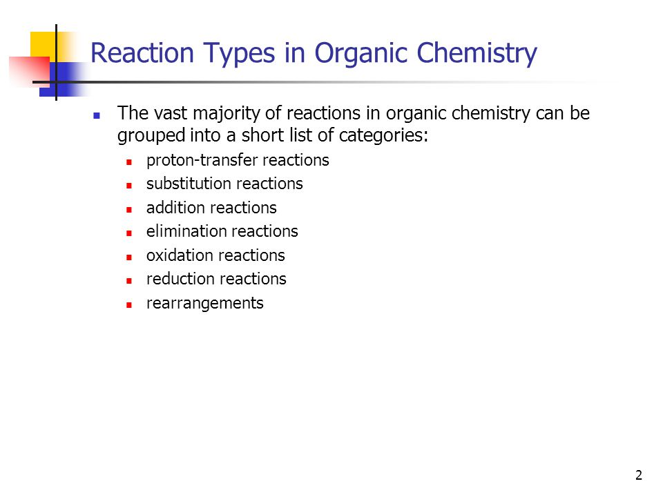 3 Reaction Types: Proton-Transfer Reactions Proton-transfer reactions are Brønsted acid-base reactions.