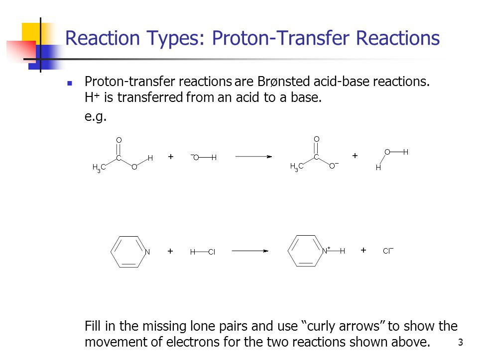 14 Organic Reactions: Why do they Proceed.