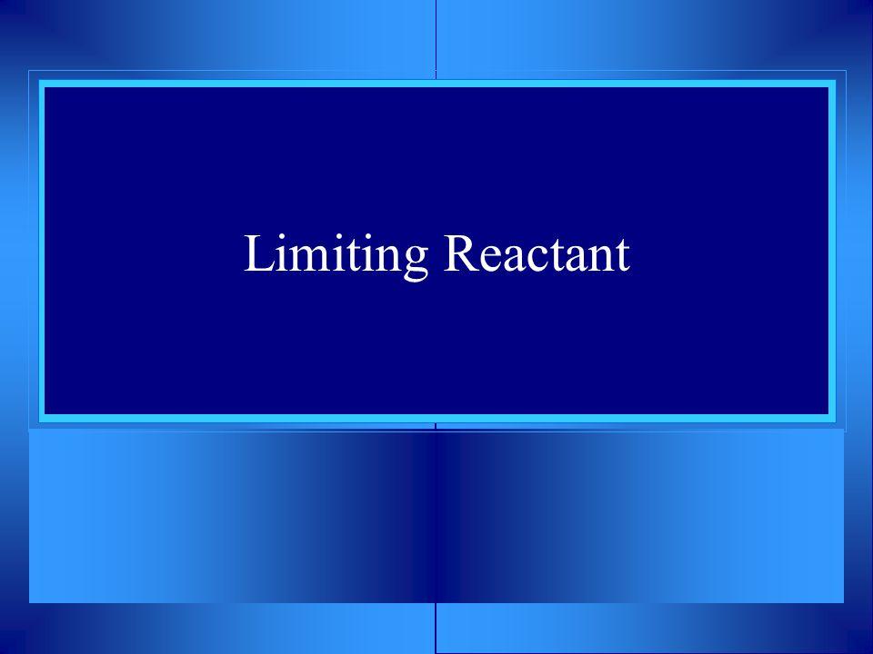 Limiting Reactant