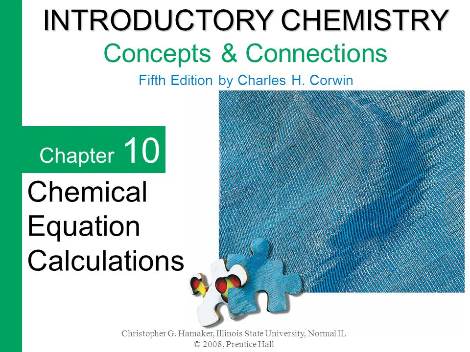 Chapter 10 2 Chemists and chemical engineers must perform calculations based on balanced chemical reactions to predict the cost of processes.