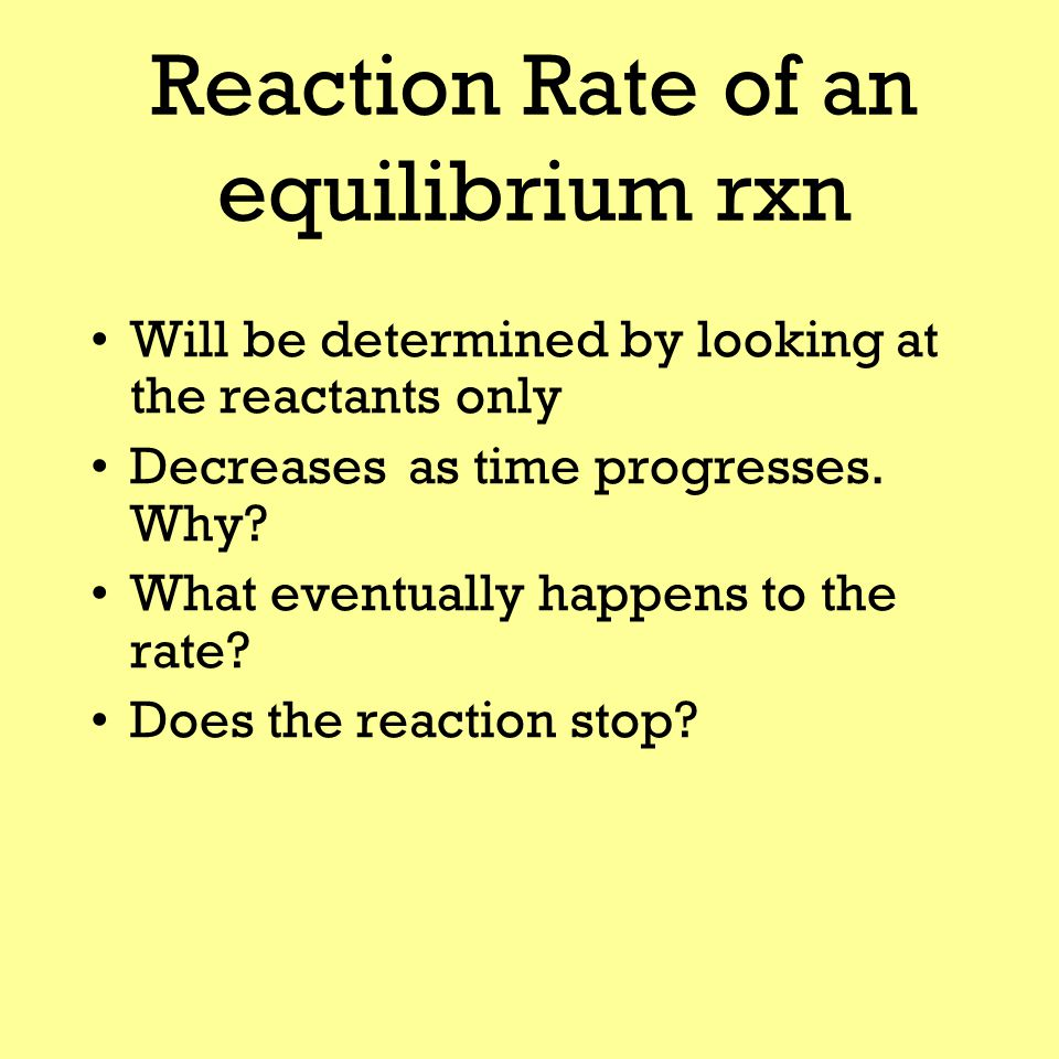 Order If the rate quadruples when the reactant is doubled, then the order is second; and rate is dependent on the square of the concentration of the reactant  Rate = k[A] 2