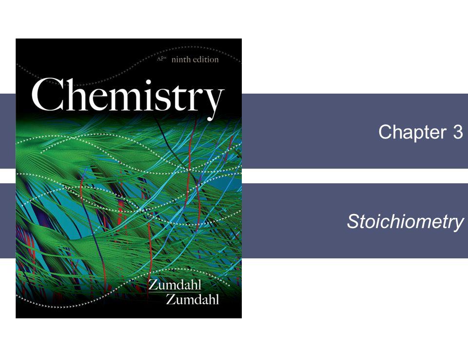 Chapter 3 Stoichiometry AP*