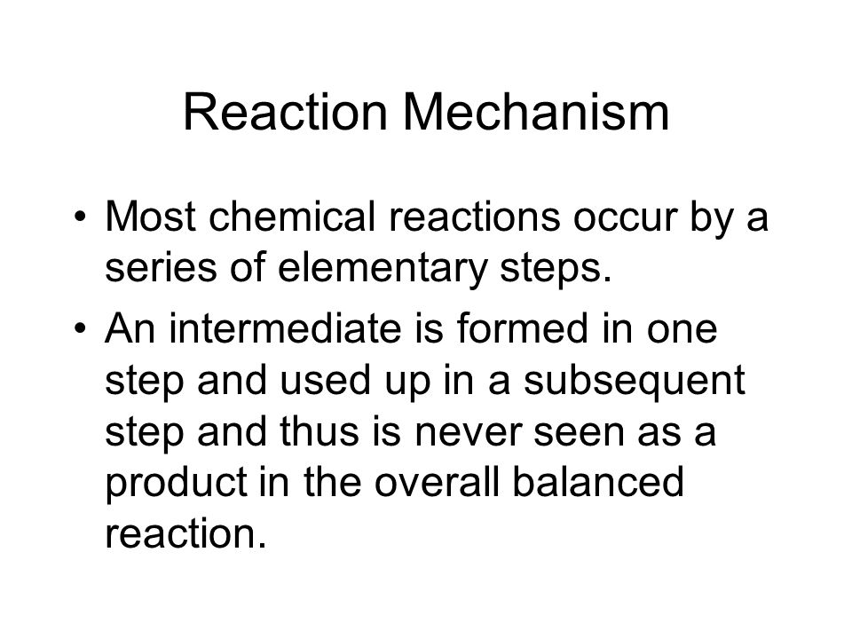 Exercise of Reaction Order Consider the reaction aA  Products.