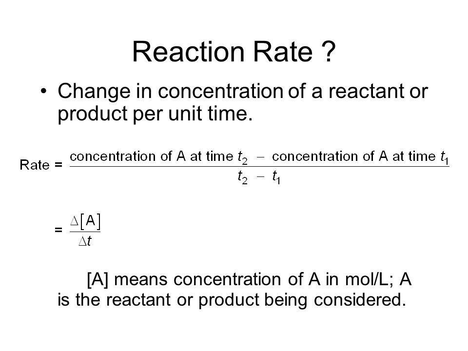 Chpt 12 - Chemical Kinetics Reaction Rates Rate Laws Reaction Mechanisms Collision Theory Catalysis HW: Chpt 12 - pg.