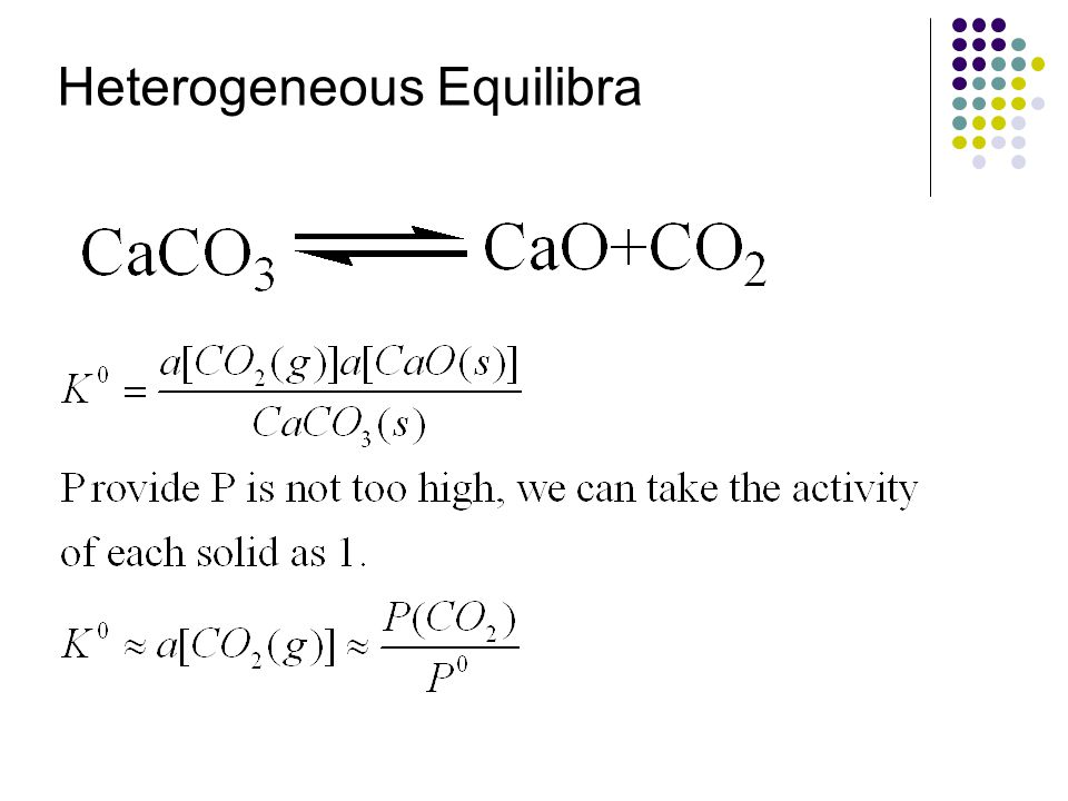 Heterogeneous Equilibra