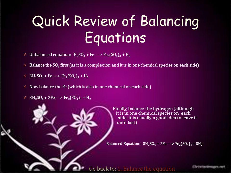 Steps for a limiting reactant problem 1.Balance the equation.