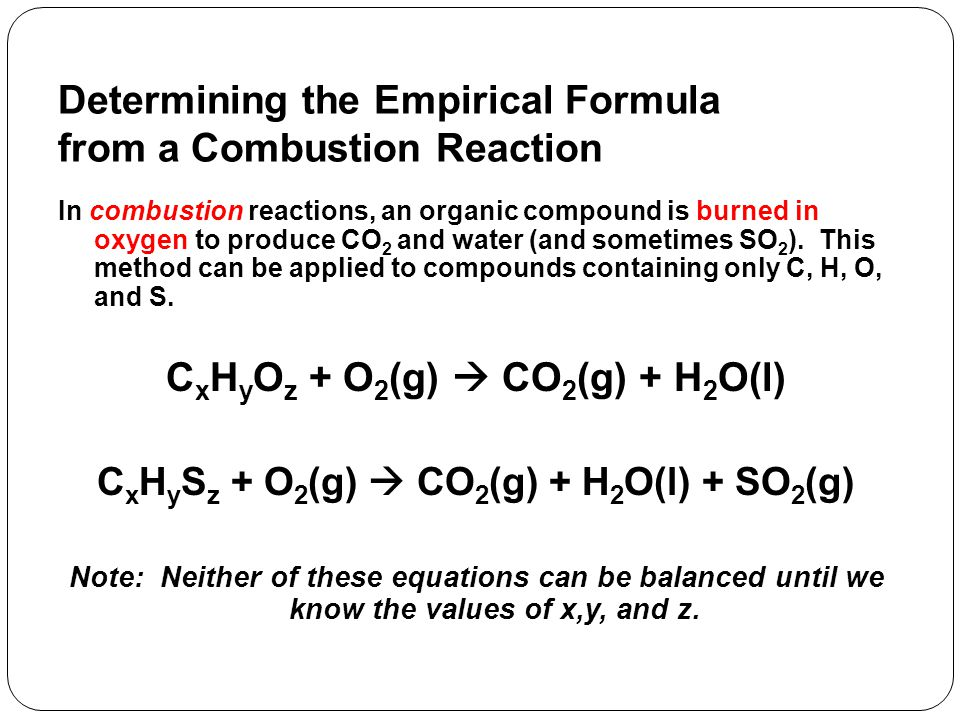 How to Write the Equation for a Combustion Reaction 1.One reactant is the chemical being combusted.