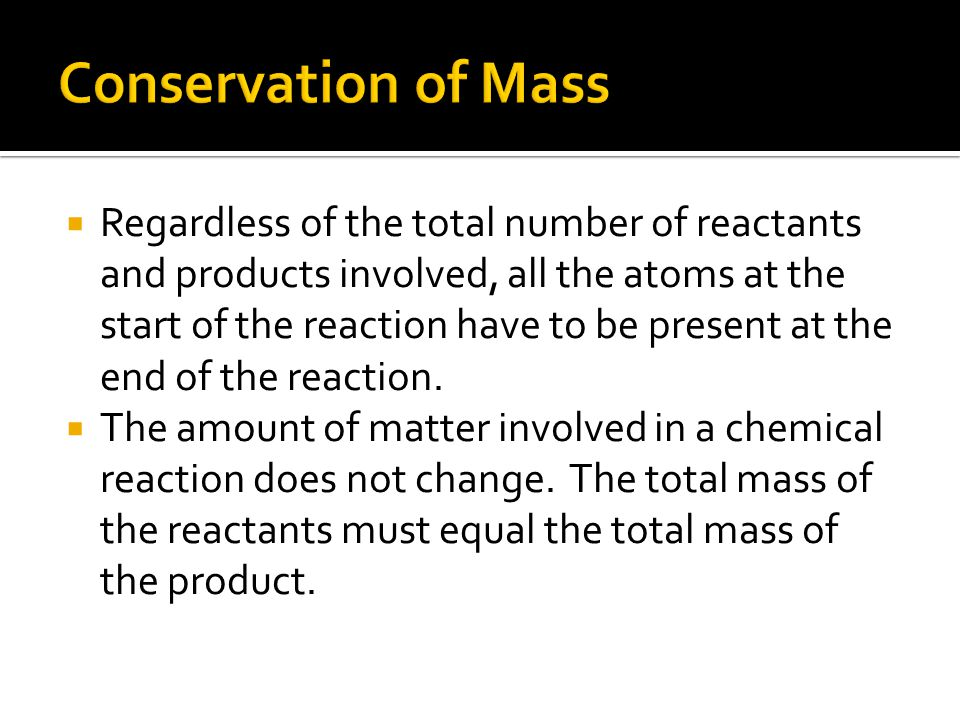  When there are two or more reactants they are separated by a plus sign.