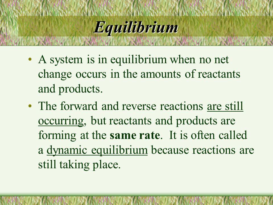 18.2: Factors Affecting Chemical Equilibrium Objectives Describe how various factors affect chemical equilibrium.