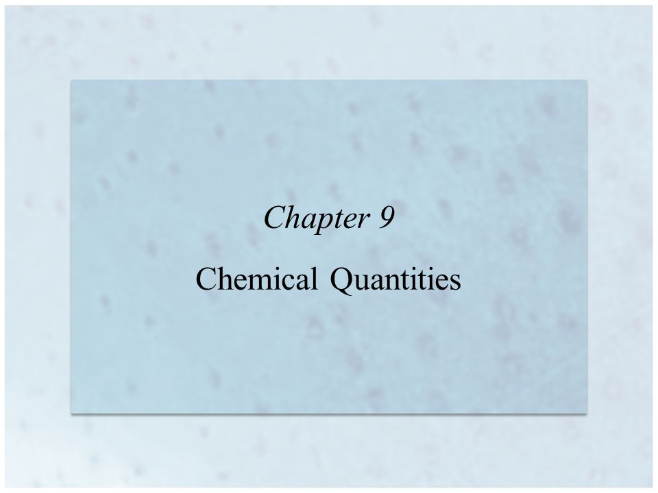9 | 2 Information Given by the Chemical Equation Balanced equations show the relationship between the relative numbers of reacting molecules and product molecules.