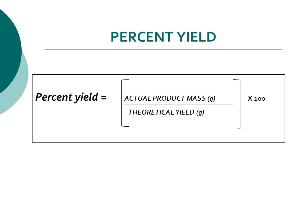 Theoretical yield and percent yield CALCULATIONS Theoretical Yield (g) based on alcoholPercent Yield Theoretical Yield (g) Actual Yield (g) Percent Yield Show these calculations in your lab notebook.