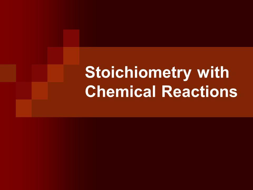 Stoichiometry Unit Objectives Solve reaction stoichiometry problems:  Mole- Mole  Mass – Mole  Mass-Mass  Mass Volume