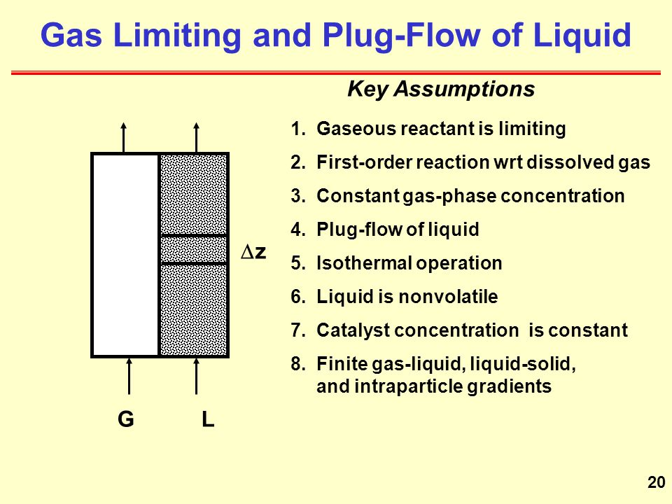 20 zz GL Gas Limiting and Plug-Flow of Liquid 1.