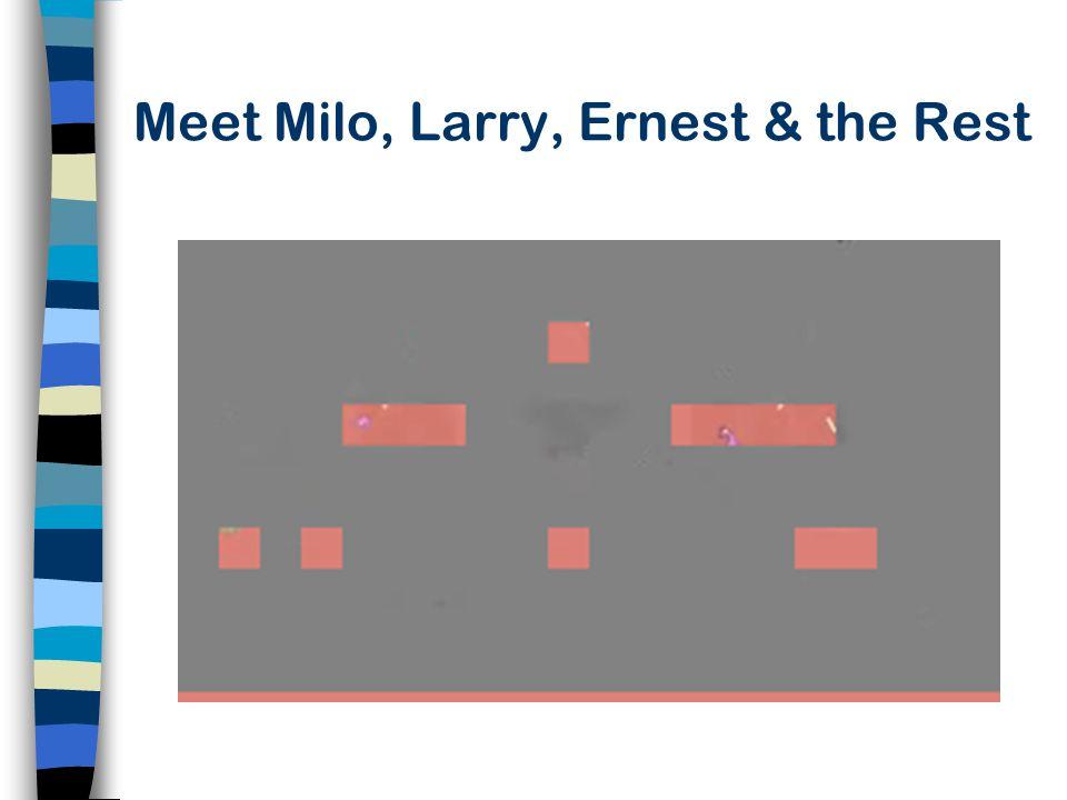 Meet Milo, Larry, Ernest & the Rest