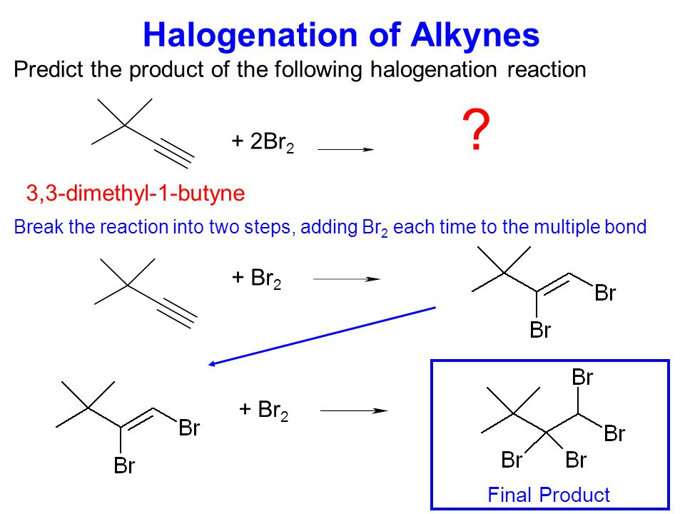 Hydration of Alkynes Predict the product of the following hydration reaction + 2H 2 O .