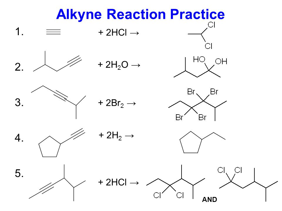 Hydrogenation of Alkynes Predict the product of the following hydrogenation reaction + 2H 2 ? This reaction will simply turn the alkyne to an alkene,