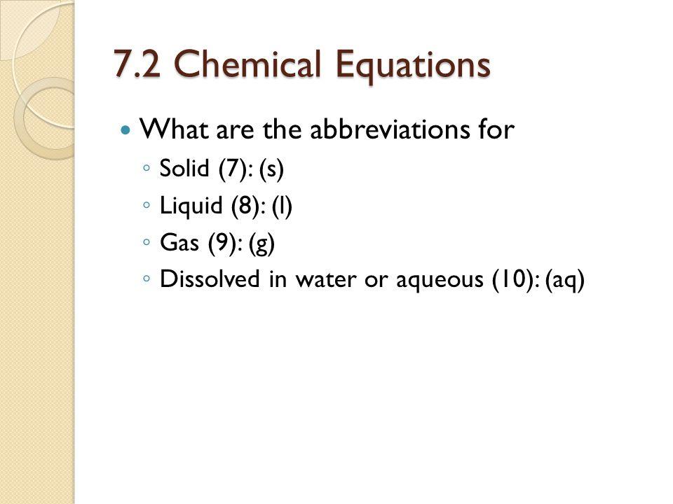 7.3 Balancing Chemical Equations, p.