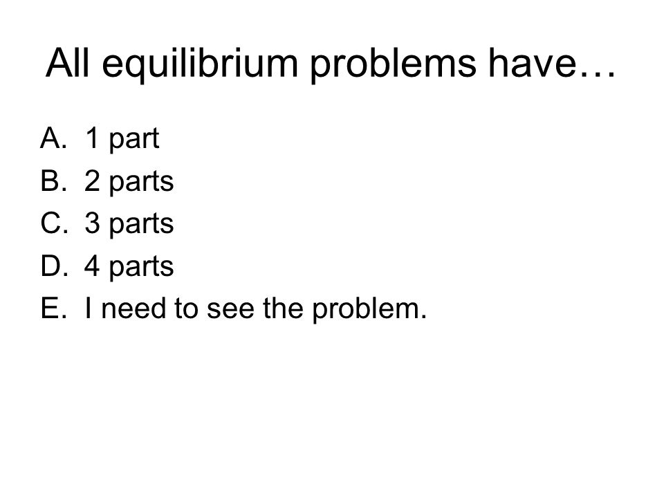 3 Magic Parts 1.Balanced equation – it's CHEMISTRY.
